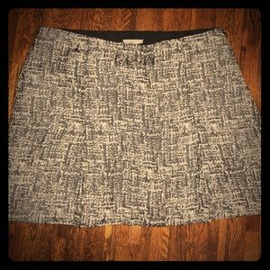 Joie tweed inspired skirt